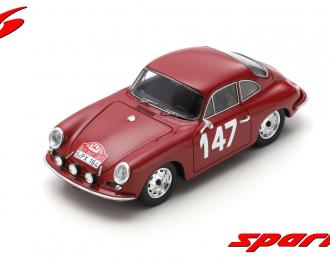 Porsche 356 B 2000 Carrera 2 GS-GT #147 Rally Monte Carlo 1964 R. Buchet - M. Gauvin