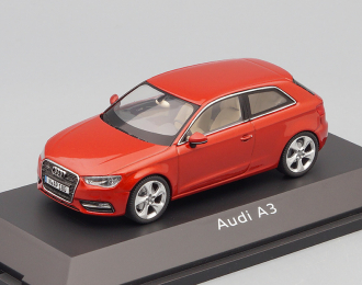 AUDI A3 3-dr (2012), red