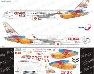 Декаль на самолёт боенг 767-300 (AnexTur(AzurAir))