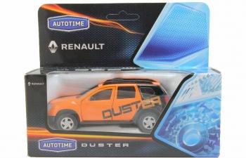 RENAULT Duster Тюнинговая Версия, оранжевый / черный