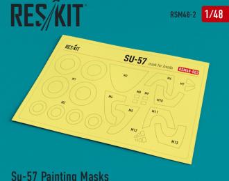 Окрасочная маска для Сухххой-57