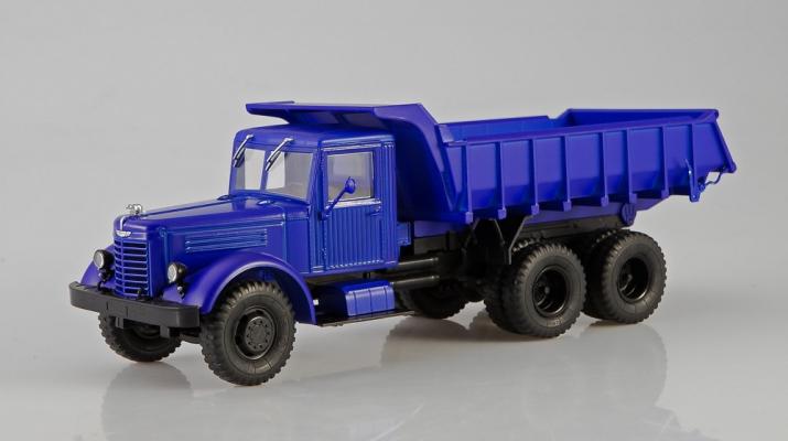 ЯАЗ-210Е самосвал, синий