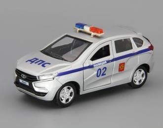 LADA Xray Полиция, silver