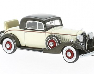 BUICK Model 33 Fifty-Six S Sport Coupe 1933 Beige/Brown