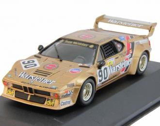 "BMW M1 #90 ""Warsteiner"" Pallavicini - Winther - Bayern Le Mans (1983), gold"