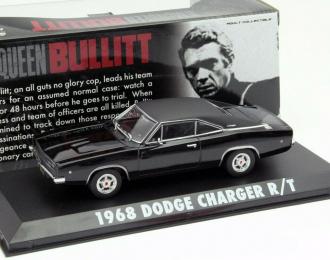 "DODGE Charger R/T из к/ф ""Буллит"" (1968), black"