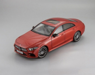 Mercedes-Benz CLS Coupe (C257) 2018 (red)