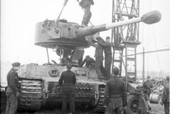 Сборная модель Fries Kran 16t Strabokran 1943/1944