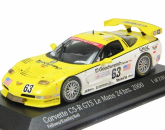 CHEVROLET Corvette CR-5 GTS Fellows - Kniefel - Bell Le Mans 24 hrs. (2000), yellow
