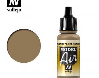 Краска акриловая `Model Air` Защитно-коричневый /Khaki Brown