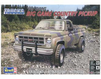 Сборная модель GMC Big Game Country 1978