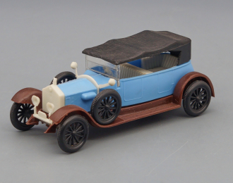 ROLLS-ROYCE Silver Ghost (1907), blue / brown