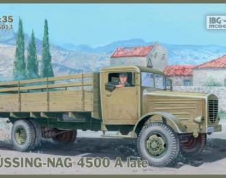 Сборная модель Bussing-Nag 4500 A late