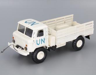 Горький 66 UN бортовой, белый