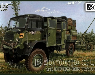Сборная модель Bedford QLB 4x4 Bofors Gun Tractor