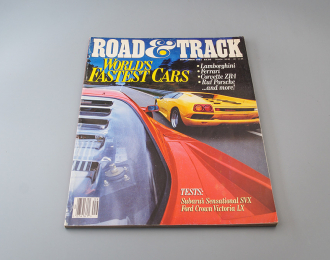 Журнал Road & Track September 1991