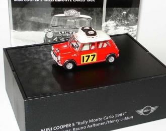 Austin Mini Cooper S Mk6 / Mk7 (1991-2000) #177 Aaltonen / Liddon Rallye Monte Carlo 1967