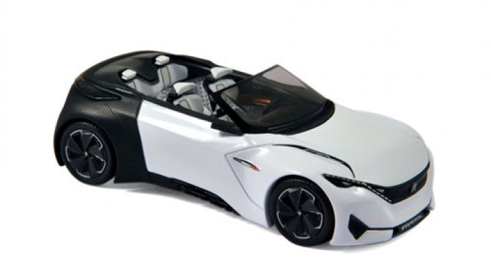 peugeot cabriolet concept car fractal salon de francfort 2015. Black Bedroom Furniture Sets. Home Design Ideas