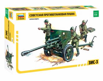 Сборная модель Советская противотанковая пушка ЗИС-3