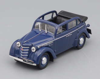 МОСКВИЧ 400-420А, Автолегенды СССР 5, темно-синий