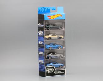 Набор из 5 моделей / SET 5X FAST & FURIOUS