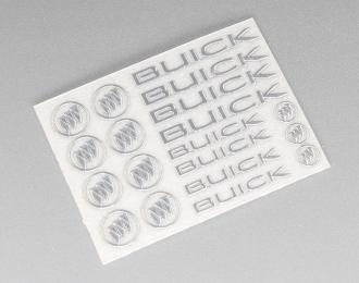 Наклейка объёмная металлизированная логотипы Buick