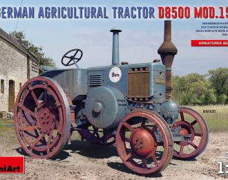 Сборная модель Немецкий сельскохозяйственный трактор D8500 1938 г.