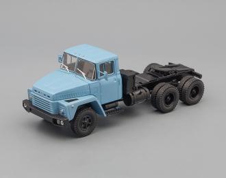 КРАЗ 252 седельный тягач (1979-1990), голубой