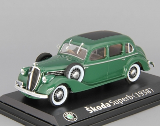 SKODA Superb 913 (1938), green