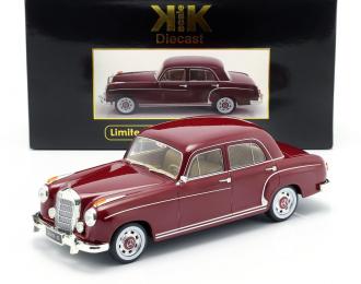 MERCEDES-BENZ 220S Limousine (W180 II) 1956 Dark Red