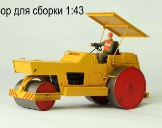 Сборная модель Каток дорожный ДУ-48