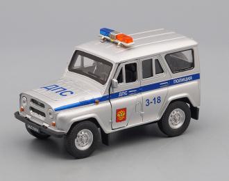 УАЗ 31514 ДПС, серебристый