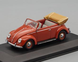 VOLKSWAGEN 1200 Cabriolet (1951-1952), red
