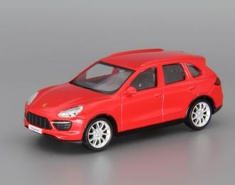 PORSCHE Cayenne Turbo, red