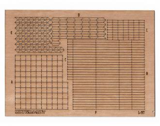 Паркет наборный Версальский квадрат, размер M