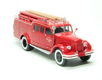 ПМЗМ-2 (шасси ЗиС-150) Пожарная Цистерна, красный