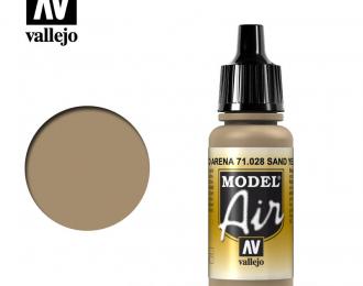 Краска акриловая `Model Air` Желтый песок/Sand Yellow
