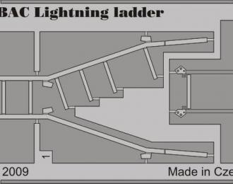 Фототравление Британский истребитель-перехватчик English Electric (BAC) Lightning (трап)