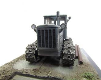 Т-75 трактор (серый, запыленный)