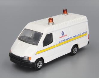 "FORD Transit ""Nottinghampshire Ambulance Service"", white"