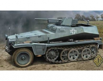 Сборная модель Sd.Kfz 250/10 Немецкий бронетранспортер