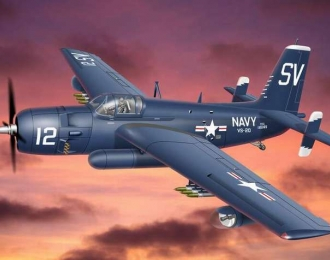 Сборная модель Противолодочный самолет Grumman AF-2S/3S