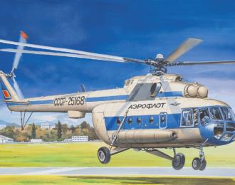 Сборная модель Многоцелевой вертолет Ми-8МТ / Ми-17 Аэрофлот