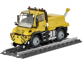 MERCEDES-BENZ Unimog U430 Локомобиль с кузовом для маневровых работ