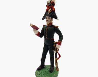 Фигурка Офицер лейб-гвардии Гусарского полка в вицмундире, 1814