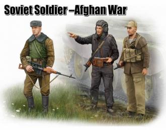 Сборная модель Солдаты   советские в Афганистане
