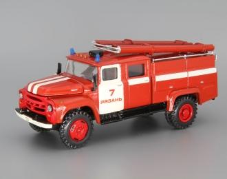 (Конверсия!) ZIL 130 Пожарные, красный / белый
