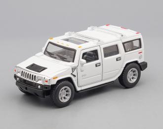 HUMMER H2 SUV (2008), white