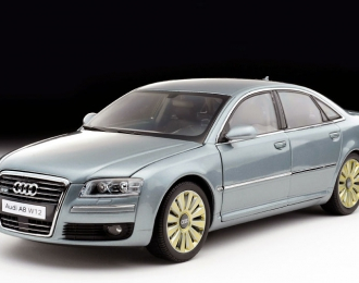AUDI A8 W12, silver gray