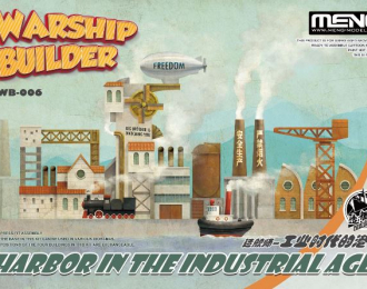 Сборная модель Warship Builder-Harbor in The Industrial Age